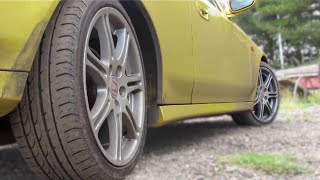 2WS Vs 4WS 4 wheel steering Honda Prelude. Slow speed manoeuvrability comparison JDM & UKDM