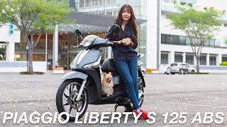 Một ngày với Piaggio Liberty S 125 ABS - chiếc xe đô thị thân thiện và cá tính   Xe.Tinhte.vn
