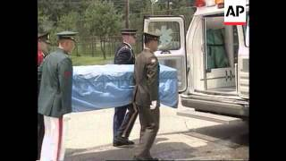 NORTH KOREA: REMAINS OF US KOREAN WAR SOLDIER RECOVERED