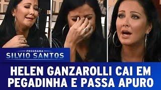 Câmera Escondida - Helen Ganzarolli cai em Pegadinha