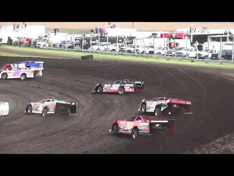 IMCA Late Model Heat Benton County Speedway 6/9/19
