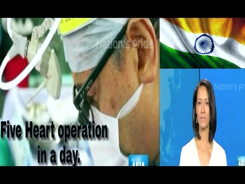 Watch How Foreign Media Praising Indian Medical Achievement | Amaizing 5 Heart Operation In A Day.