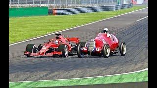 Ferrari F1 2018 vs Alfa Romeo F1 1937 - Monza thumbnail