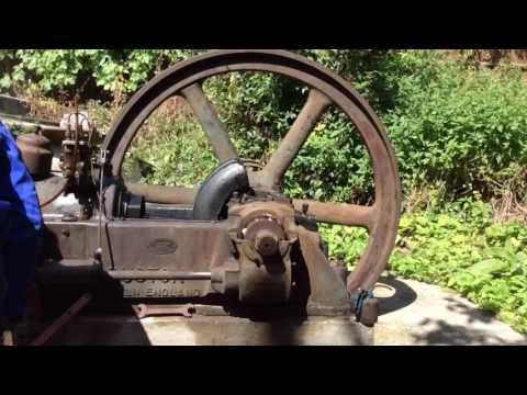 Ruston Horizontal Oil Engine