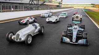Celebrating 125 Years of Mercedes-Benz Motorsport