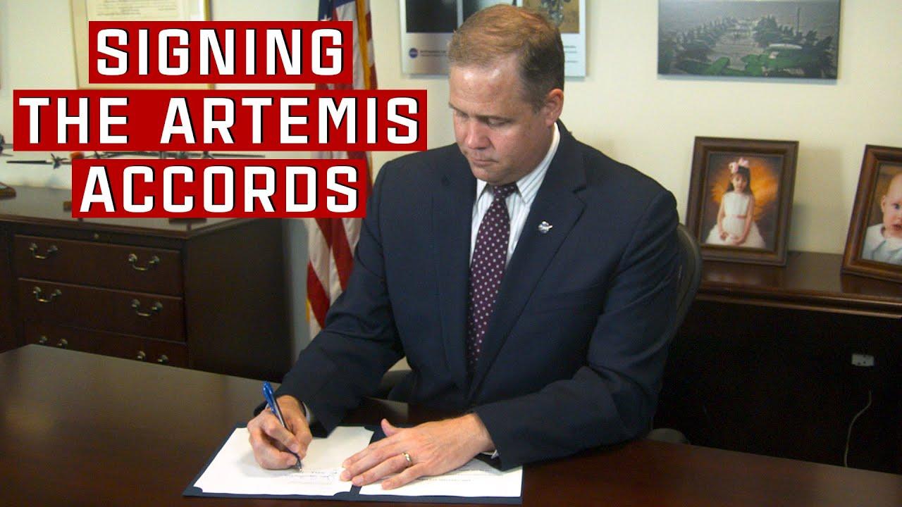 NASA and International Partners Sign Artemis Accords - NASA