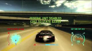 Need For Speed Undercover EPIC Cop chase at 5 HEAT