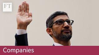 Google boss testifies before Congress