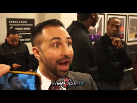 PAULIE MALIGNAGGI EXPLAINS WHY WILDER & JOSHUA CAN BEAT EACH OTHER, SAYS IT WON'T LAST LONG