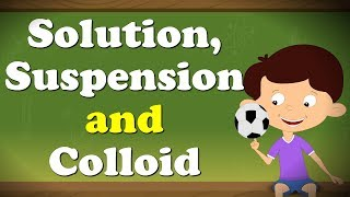 Solution, Suspension and Colloid