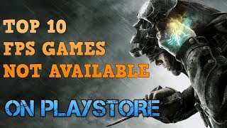 TOP 5 FPS GAMES | NOT AVAILABLE ON PLAYSTORE | GAMING WITH ROY