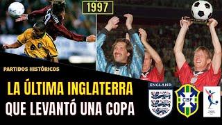Brasil 1 Inglaterra 0 1997 Torneo de Francia La Última INGLATERRA Campeona El Mundialito