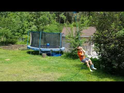 backyard zipline for my kids 150