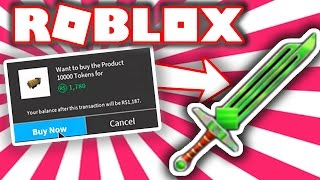 SPENDING 25,000 TOKENS FOR THE NEW EXOTIC IN ROBLOX ASSASSIN!