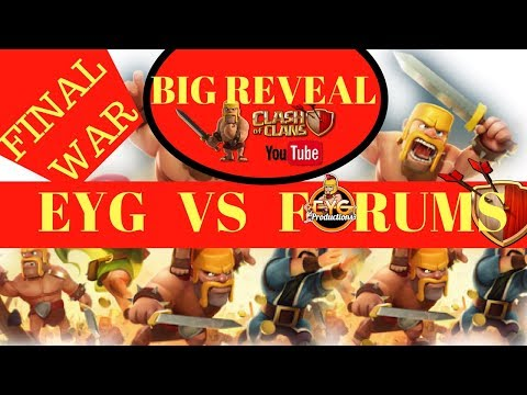 BIG REVEAL behind the EYG vs Forums final war - Clash Of Clans