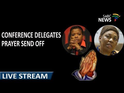 ANC Elective Conference delegates prayer send off, 10 December 2017