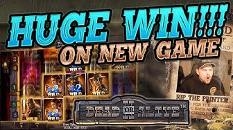 MEGA WIN!!!! Dead Or Alive 2 BIG WIN - HUGE WIN on NEW NetEnt Slot from CasinoDaddy