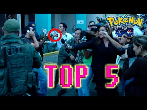Top 5 Nuevos Fuertes Accidentes Al Jugar Pokemón GO