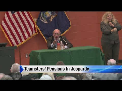 Teamsters' pensions in jeopardy