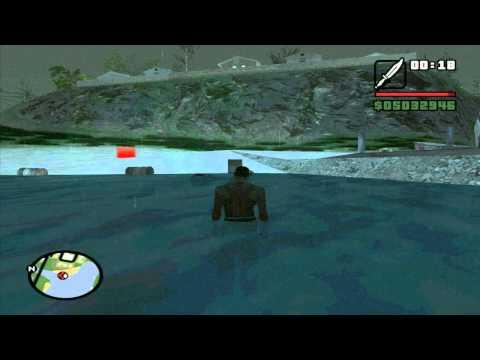 GTA San Andreas Myths - Myth 8 - Fishers Lagoon Sea-Monster