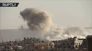 Syria combat footage: Army continues offensive against ISIS in southern Damascus - reports thumbnail