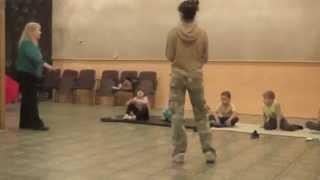 Ольга Либердовская Открытый урок актерского мастерства  3 часть