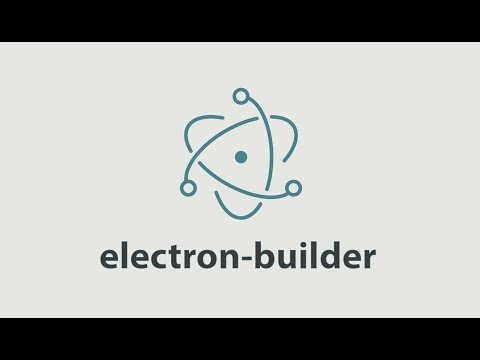 Getting started with Electron - electron-builder