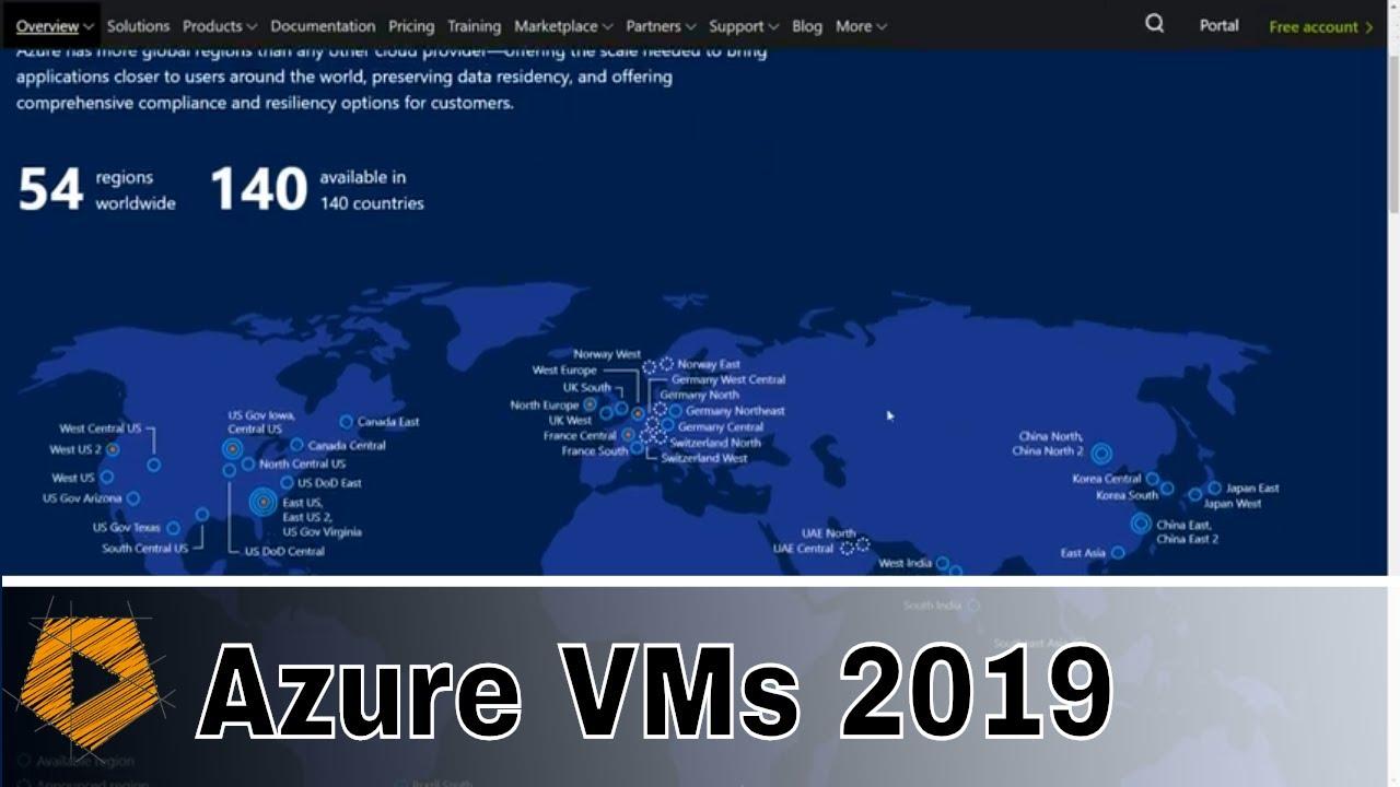 2019 Create an Azure Virtual Machine running Windows