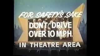 Drive In Theater Welcome 1960s