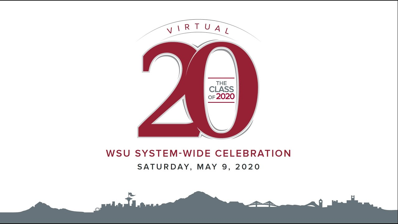 Image for 2020 WSU System-Wide Virtual Celebration webinar