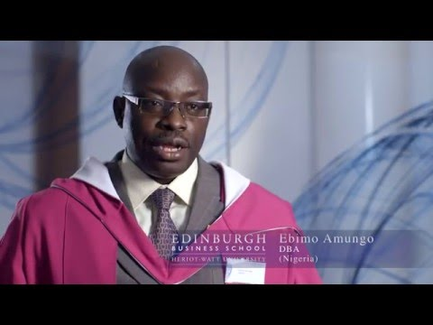 Meet Ebimo Amungo, MBA and DBA graduate, from Nigeria