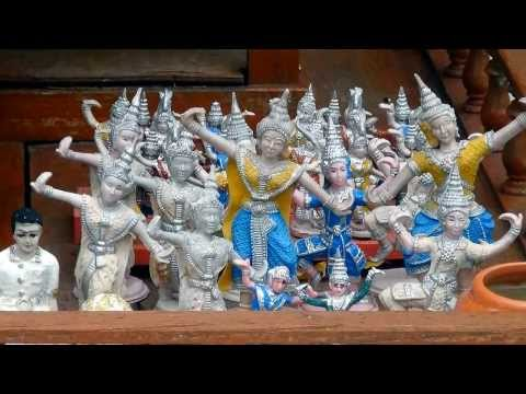 Буддистская храмовая скульптура. Temple sculpture