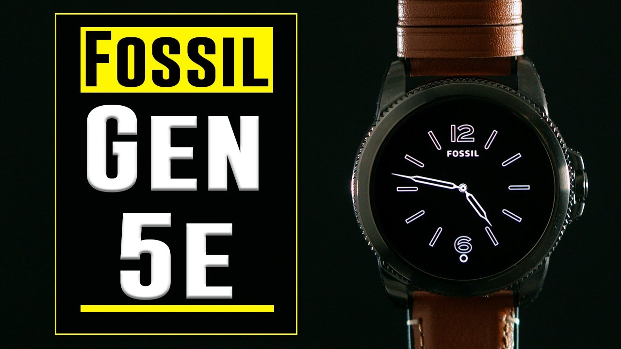 Fossil Gen 5E Review |Watch Before You Buy
