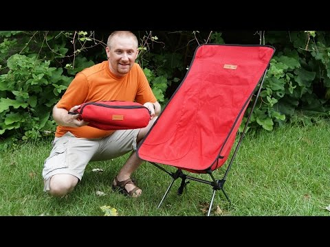 Trekology Compact Backpacking Chair Review