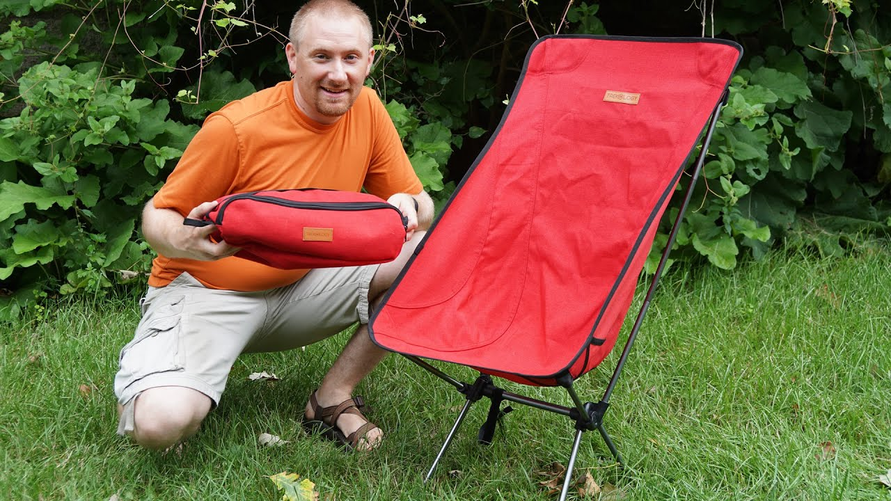 Hiking Chairs Trekology Compact Backpacking Chair Review Youtube