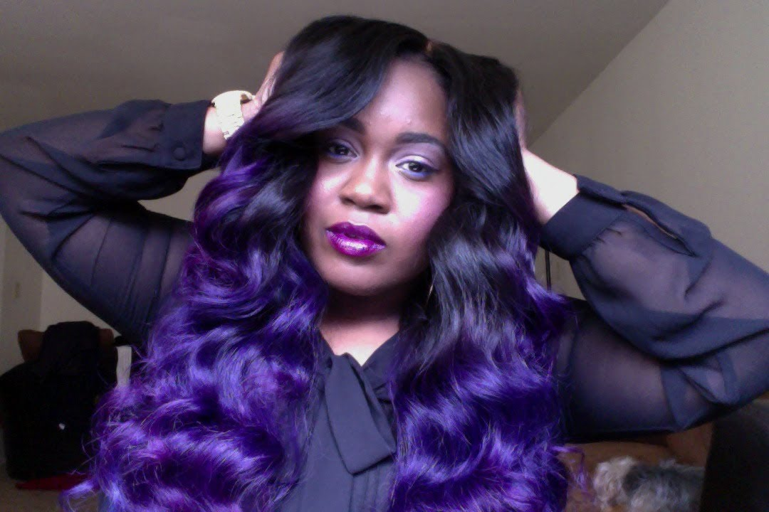 How to Maintain A Weave and Keep Color Vibrant  YouTube - Bob Weave Hairstyles