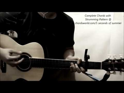5 Seconds Of Summer Heartbreak Girl Guitar Chords