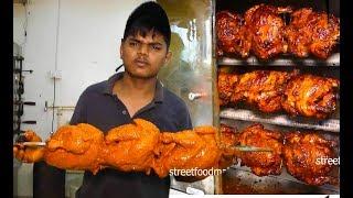 Mughlai Full Bird Chicken Tandoori Kabab | Mughlai Chicken BBQ | Street Food