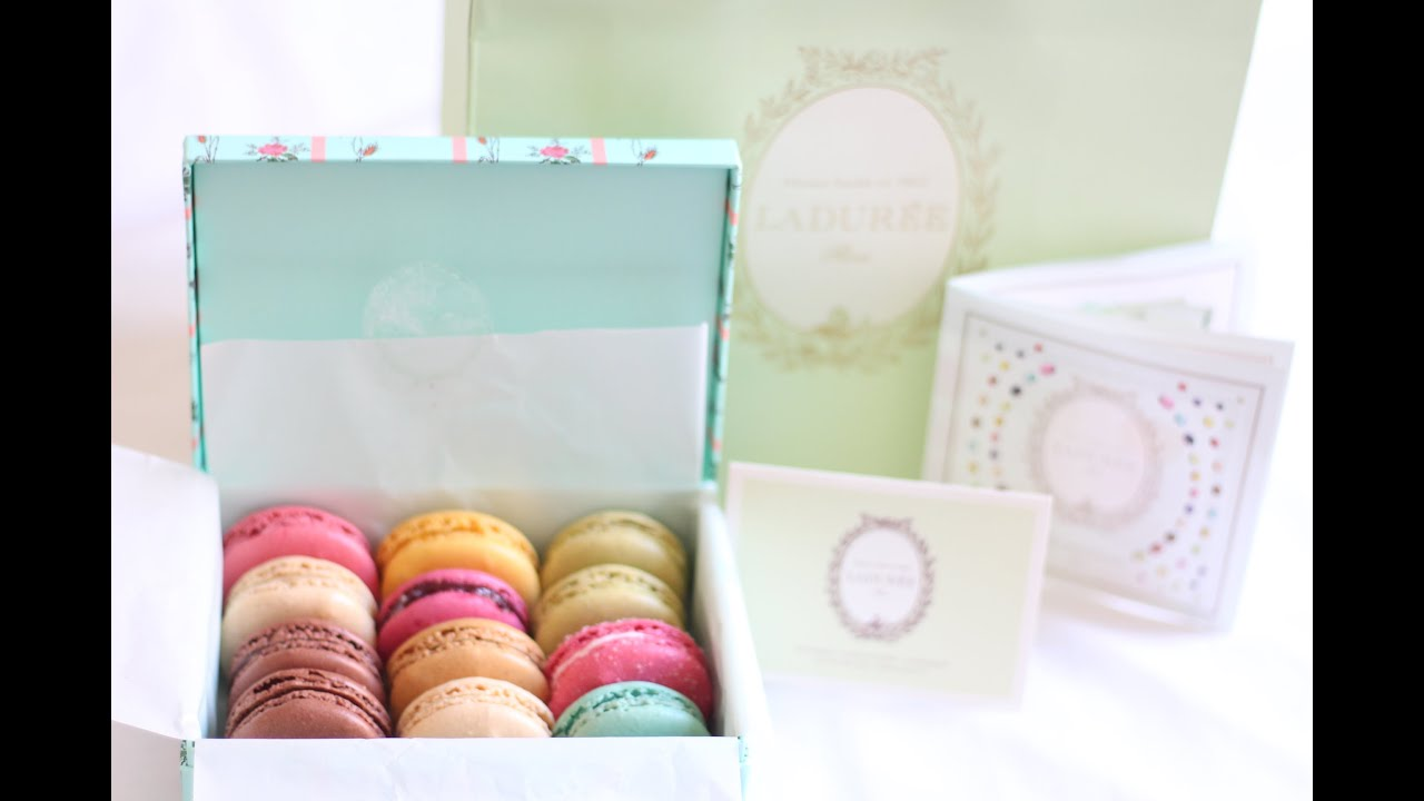 Ladurée Macarons (macaroons) Paris | Review + Tasting | Cannes, France