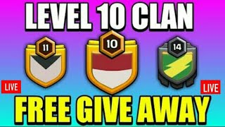 coc live || clash of clan || free giveaway clan || free giveaway || Akhil ka support