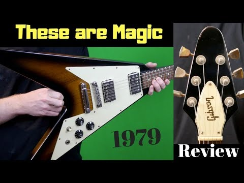 These 70s Vs are Magical | 1979 Gibson Flying V Tobacco Sunburst | Review + Demo