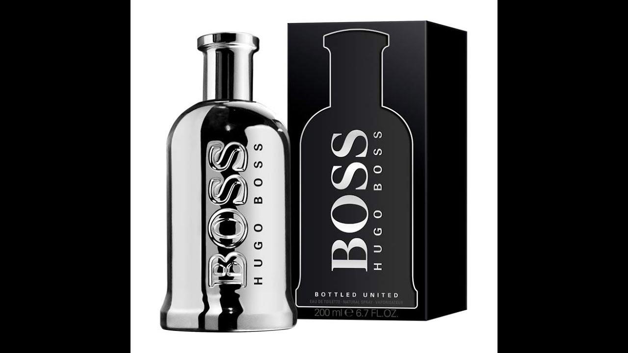 hugo boss white bottle
