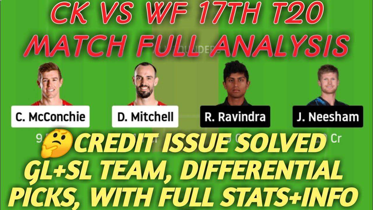 Download CK vs WF Dream11 Team Prediction   CK vs WF   CK vs WF Dream11 Team   17th T20   Super Smash 2020-21