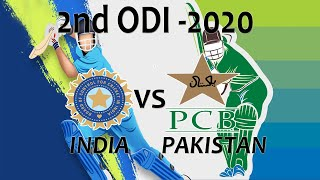 2nd ODI INDIA vs PAKISTAN 2020 Full series Cricket 19 live Gameplay