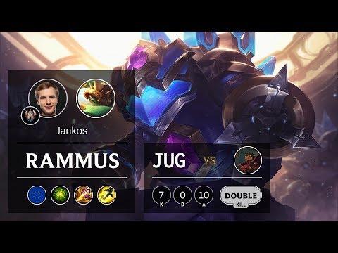Rammus Jungle vs Graves - EUW Challenger Patch 9.24