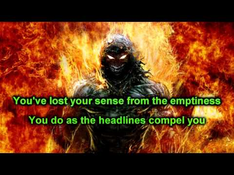 Open your eyes - Disturbed - (HD) Lyrics on screen