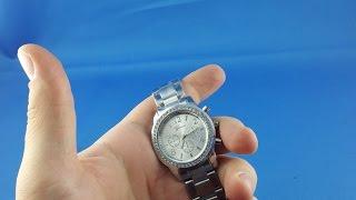 2$ Geneva Crystals watch from AliExpress.com Unboxing haul euro app