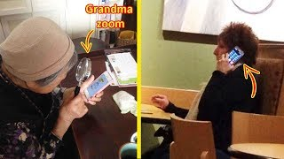 Older People Who Failed So Bad At Technology