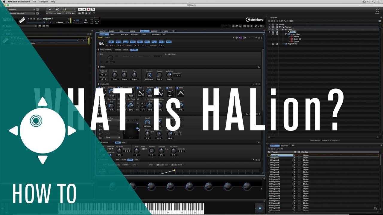 HALion — Create the future | Steinberg