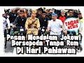 Di Hari Pahlawan, Bersepeda Tanpa Rem, Jokowi Sampaikan Pesan Mendalam